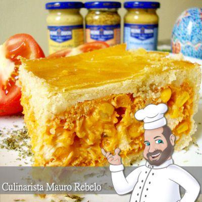 O MELHOR EMPADÃO DO BRASIL Receitas Mais Você - Culinária-Receitas - Mauro Rebelo