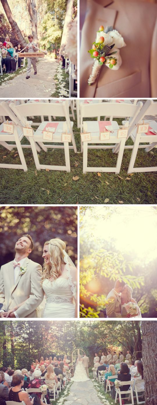 LOVEEE this wedding. coral and peach malibu wedding | sun and sparrow photography & gather events