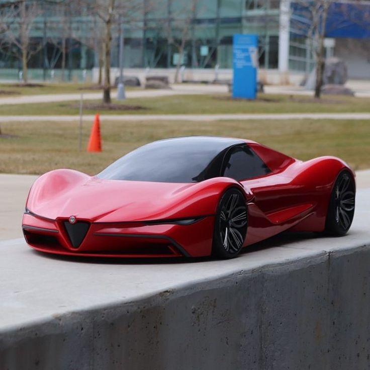 """(Automobile Design World) na Instagramie: """"Alfa Romeo thesis challenge by Fadi Hannawa …"""