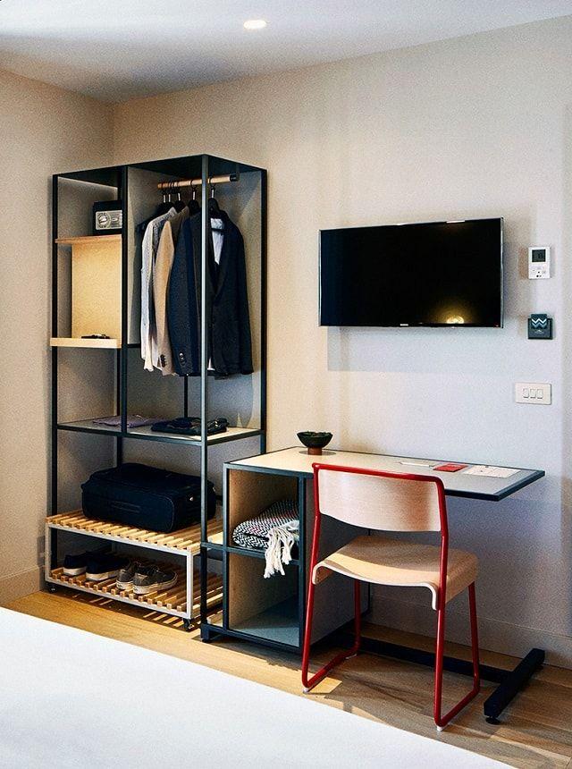 Boutique Hotel Bedrooms: Tropical Modernism: Boutique Hotel Brummell Barcelona