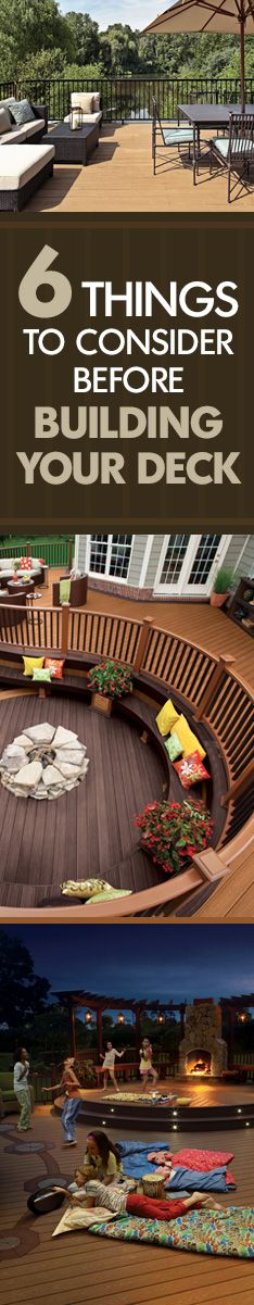 These tips will help you create the deck of your dreams!