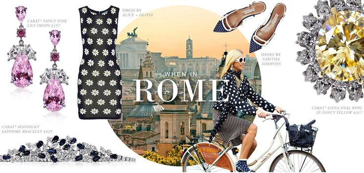 #caratlondon #jewellery #summer #rome