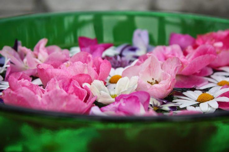 VÅRLI : Sesongens siste fargerike rosefat