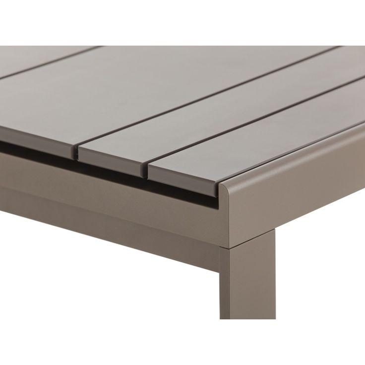 mesa alta rectangular flat de gandia blasco muebles de exterior gandia blasco mesas de exterior