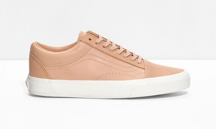 & Other Stories has released a capsule with Vans, reinterpreting a selection of the skate brand's heritage models with a bit of feminine flair.