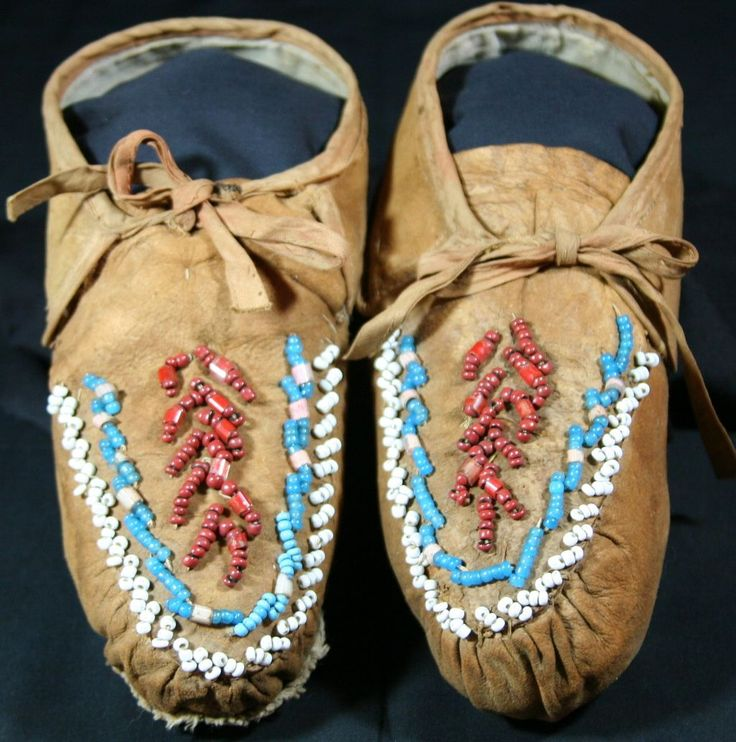 Black Indian Native American Antique Eastern Woodlands