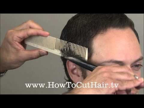 How To Cut Men's Hair - Scissor Over Comb Barbering Tecnnique