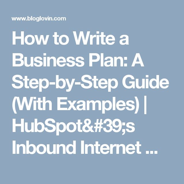 The definitive guide on how to write a business plan (free templates)