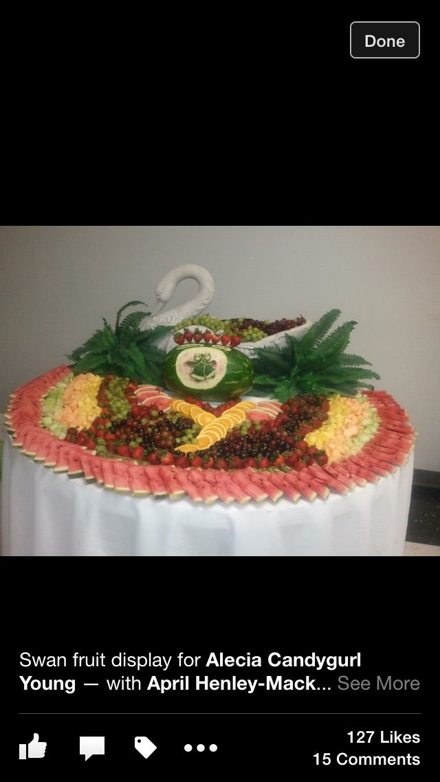 Fruit display by Elegant Catering