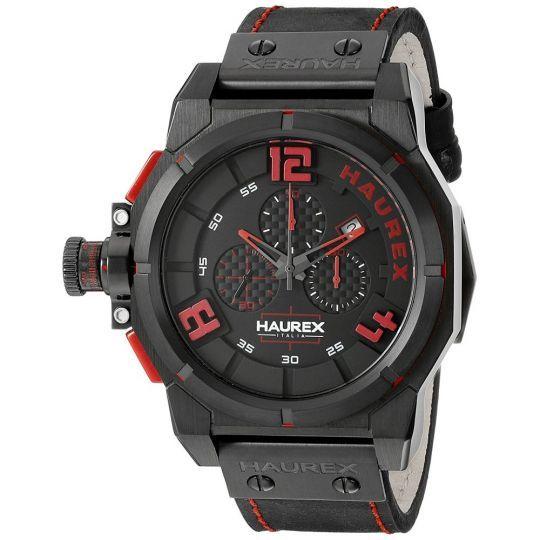 Haurex 6N510URR SPACE BLACK/RED WATCH