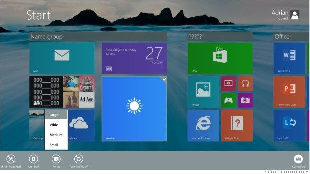 5 things we want for Windows 9