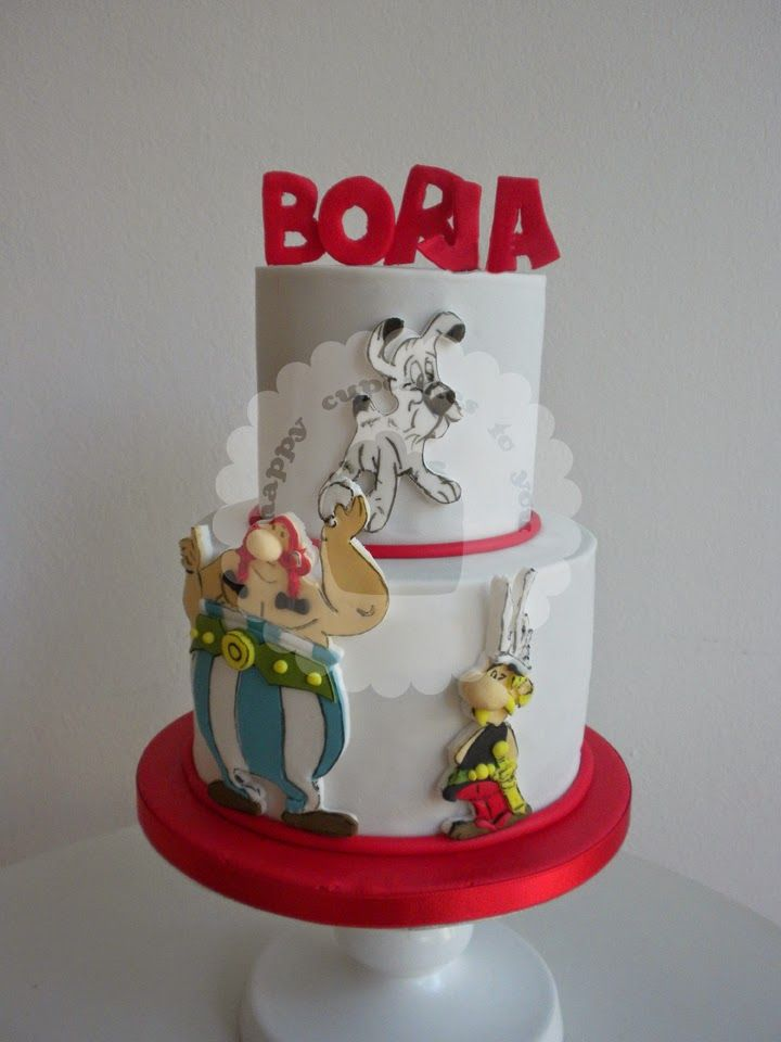 Asterix&Obelix Cake