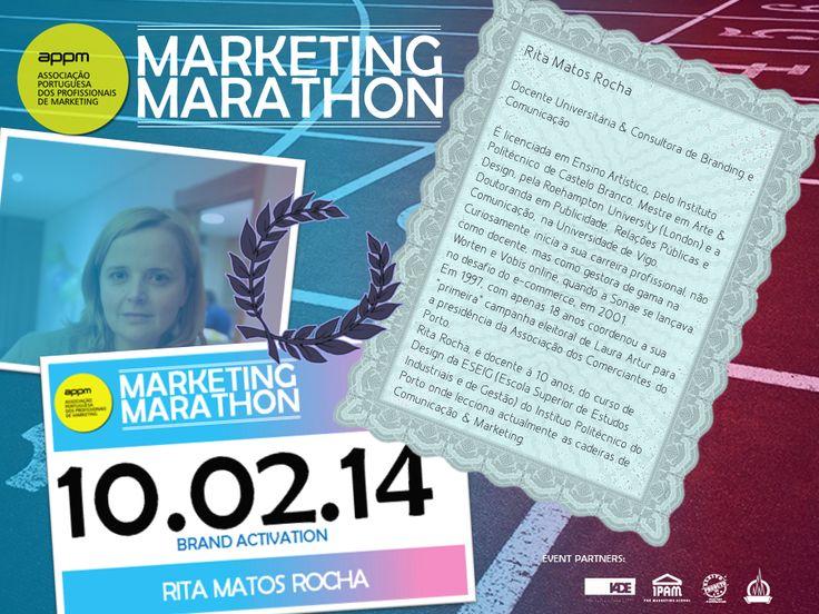 Marketing Marathon: Brand Activation / 10Fev IPAM   APPM - Associação Portuguesa dos Profissionais de Marketing
