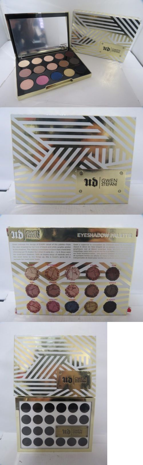 Makeup Sets and Kits: Urban Decay Gwen Stefani Eyeshadow Palette New In Box -> BUY IT NOW ONLY: $35.62 on eBay!