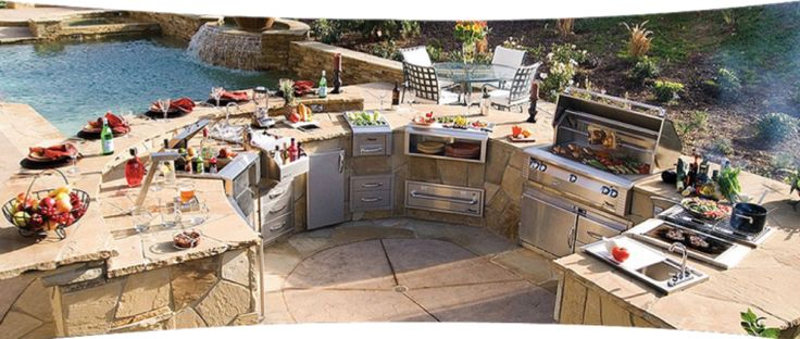 Designing great outdoor area? Think of ALFRESCO´s high quality appliances!