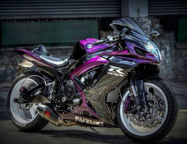 Purple Gixxer Suzuki Sport Bikes Motorcycle Suzuki
