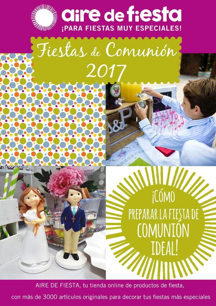 revista fiestas de comunion