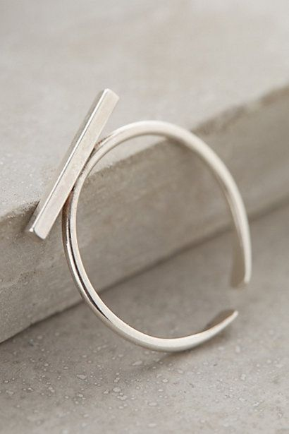 I would definitely wear this! // Dash Ring #anthropologie