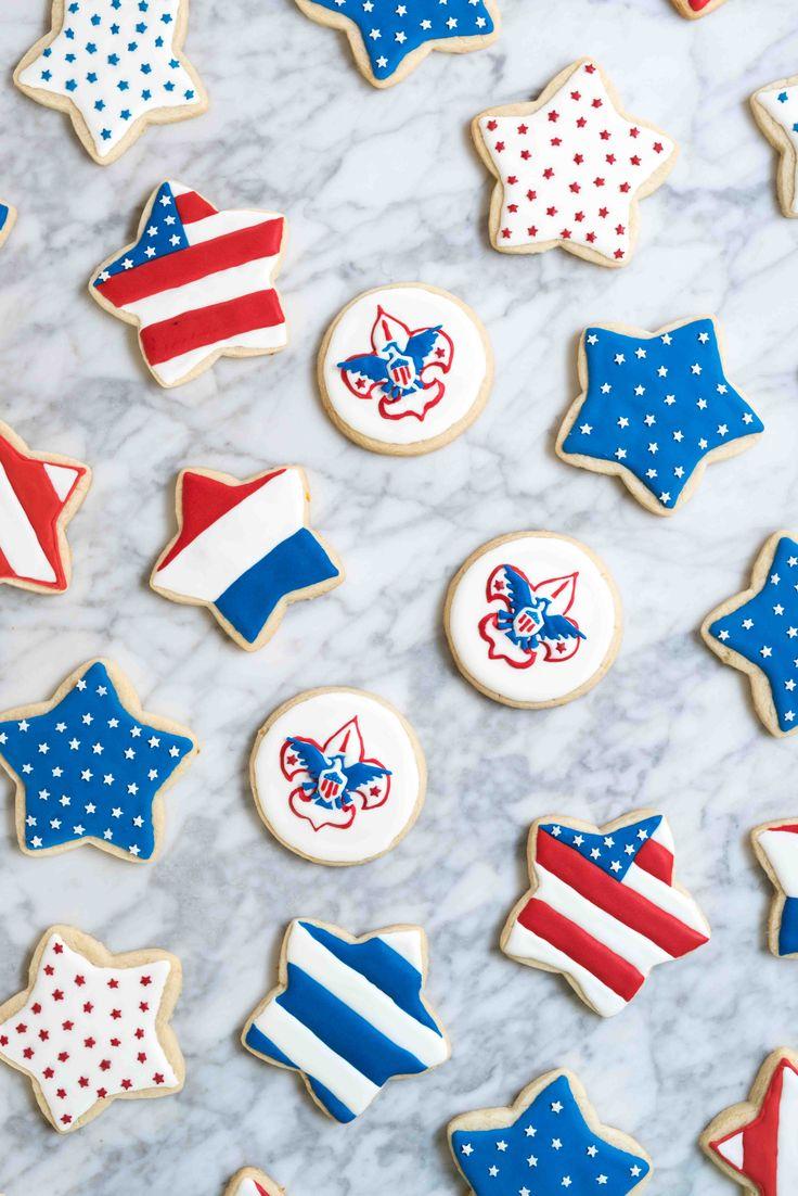 Best 25 Patriotic Sugar Cookies Ideas On Pinterest Best