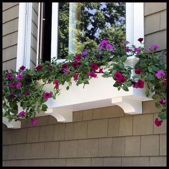Window Boxes, PVC Window Boxes, Window Boxes for Flowers & Plants