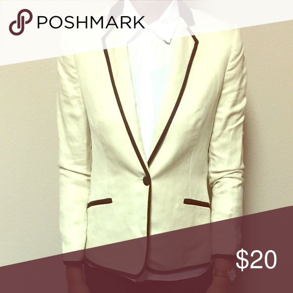 🔥🔥NEW PRICE🔥🔥off white Tuxedo Blazer Tuxedo style Blazer Jackets & Coats Blazers