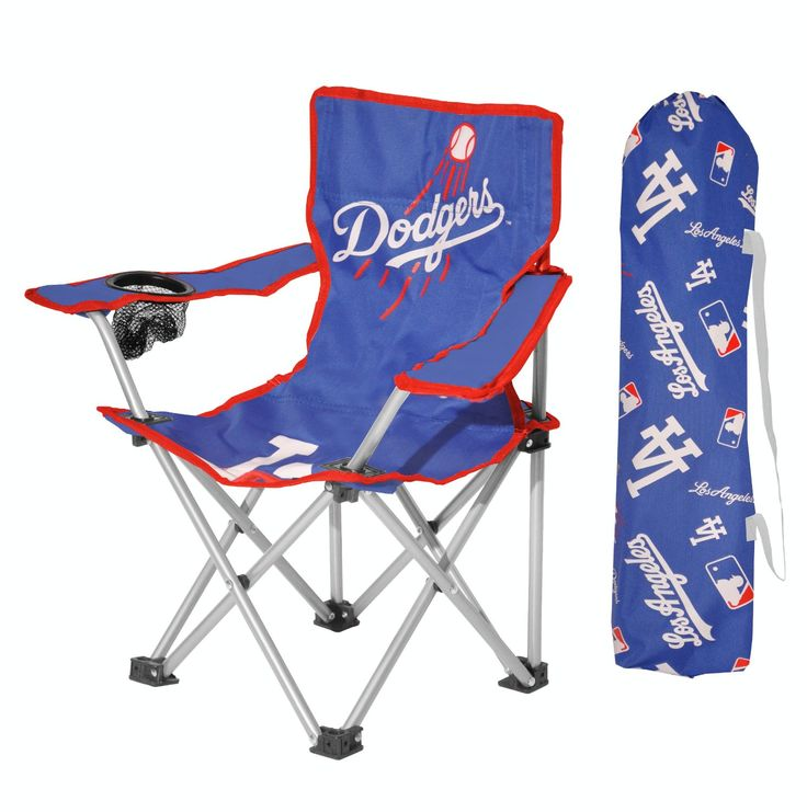 MLB Los Angeles Dodgers   Kids Camping Chair With Carrying Bag