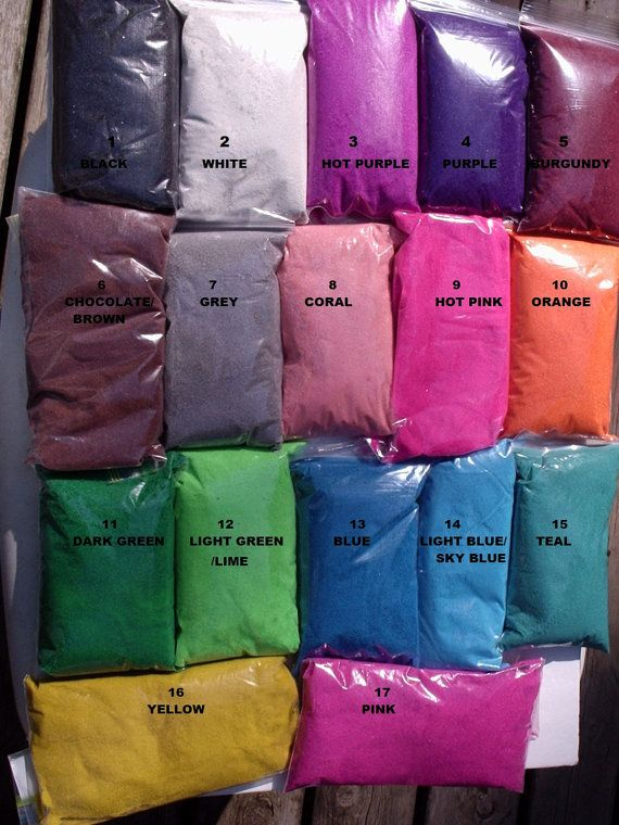 2 Unity Sand New Colors Lb Colored Ceremony Art Weddings Choose Your Color