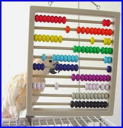 abacus... fun idea as long as all pars are non-toxic!