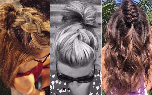 A trança unicórnio está deixando os cabelos das famosas muito mais estilosos. Inspire-se! - Beleza - CAPRICHO