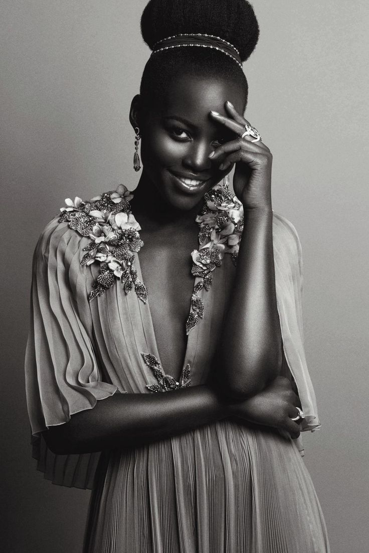 Lupita Nyong'o, photographed by Matias Indjic during the 68th annual Cannes Film Festival for Madame Figaro, June 2015.