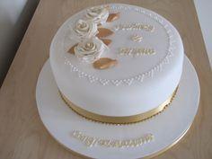 50 th anniversary cake   50th Wedding Anniversary cake   Flickr - Photo Sharing!