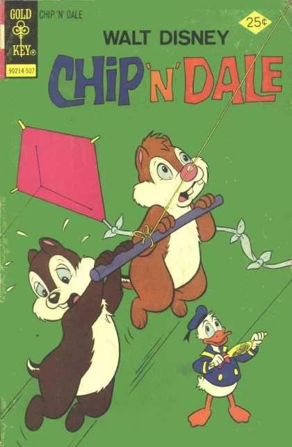 Chip @ Dale | Chip 'n' Dale 34 - Kite - Chipmunks - Donald - Disney - Duck