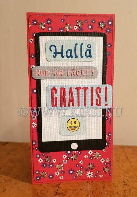Kirsi: Mobilkortet - The Mobile card.Till min Farbrors fö...