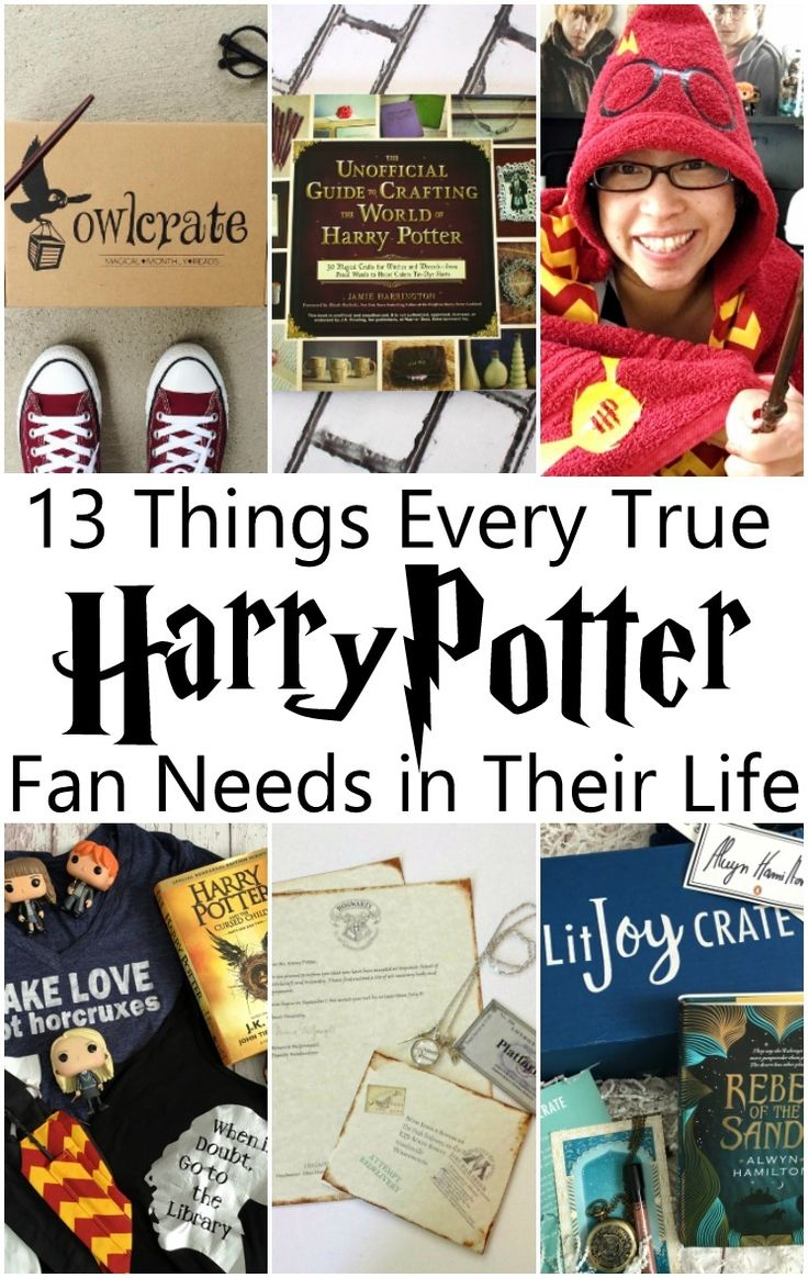 13 Things Every Harry Potter Fan Needs