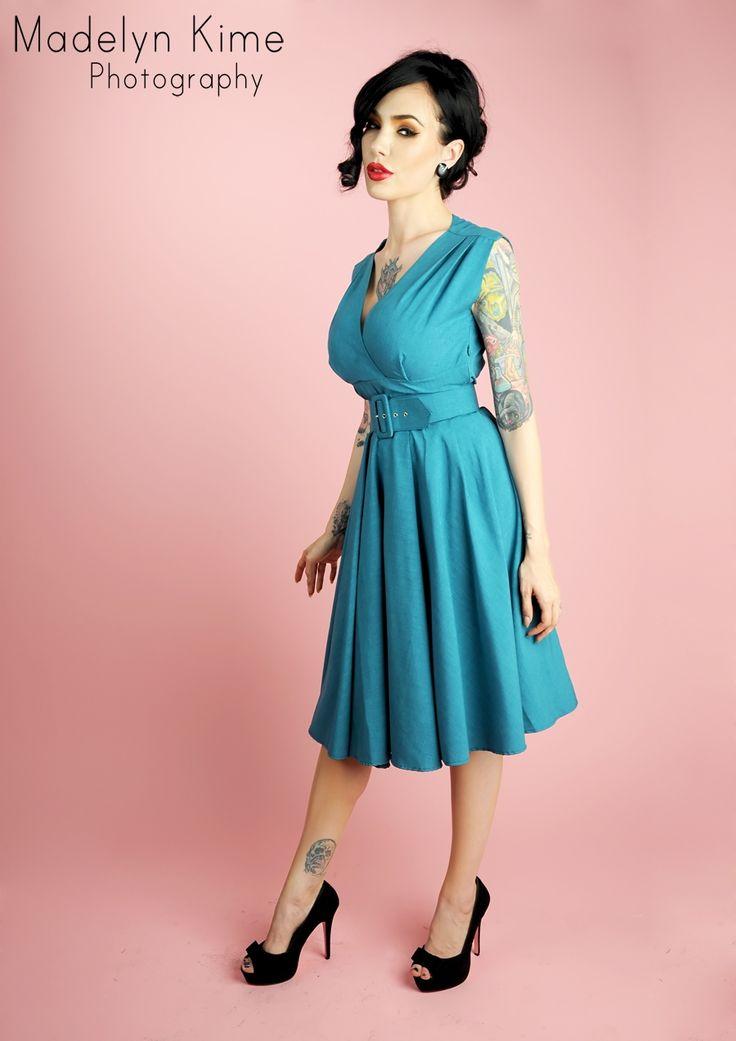 102 best Pinup Dresses images on Pinterest   Vintage fashion, Retro ...