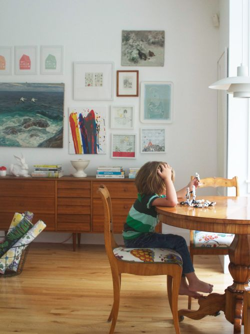 From The Living With Kids Home Tour Featuring Meta Coleman. Dining  SetDining ChairsWood ...
