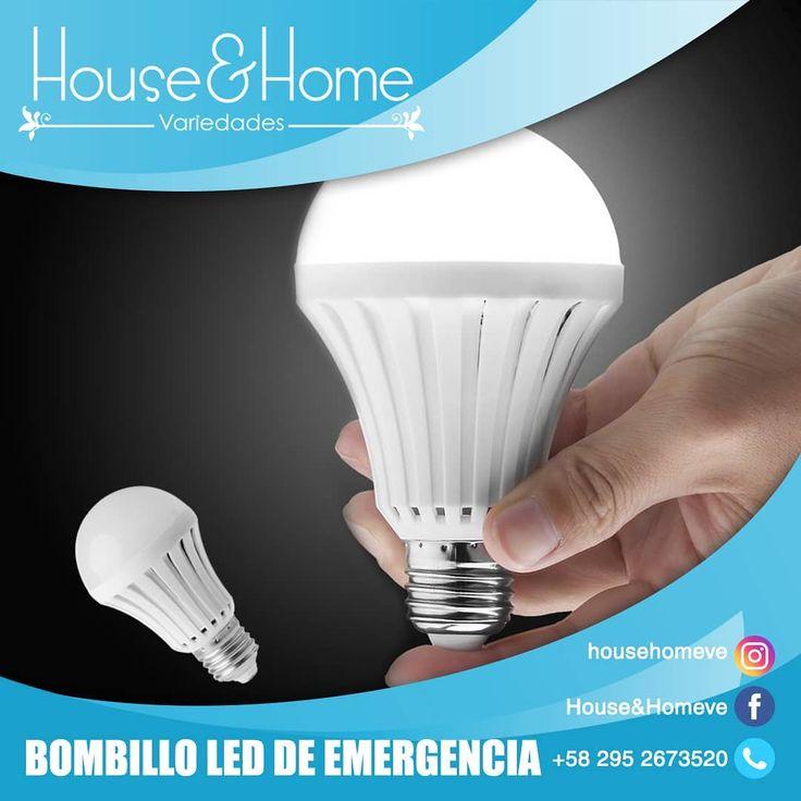 Tenemos disponible bombillos LED de emergencia recargable de luz blanca. Se acti…
