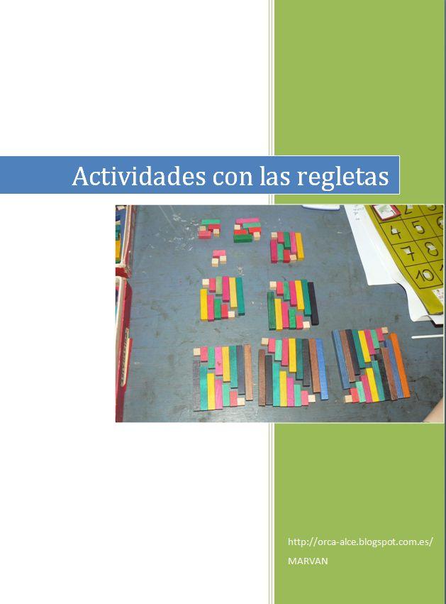 Educativos meninheira: Blog: PDF con Ideas para Actividades con Regletas Cuisenaire