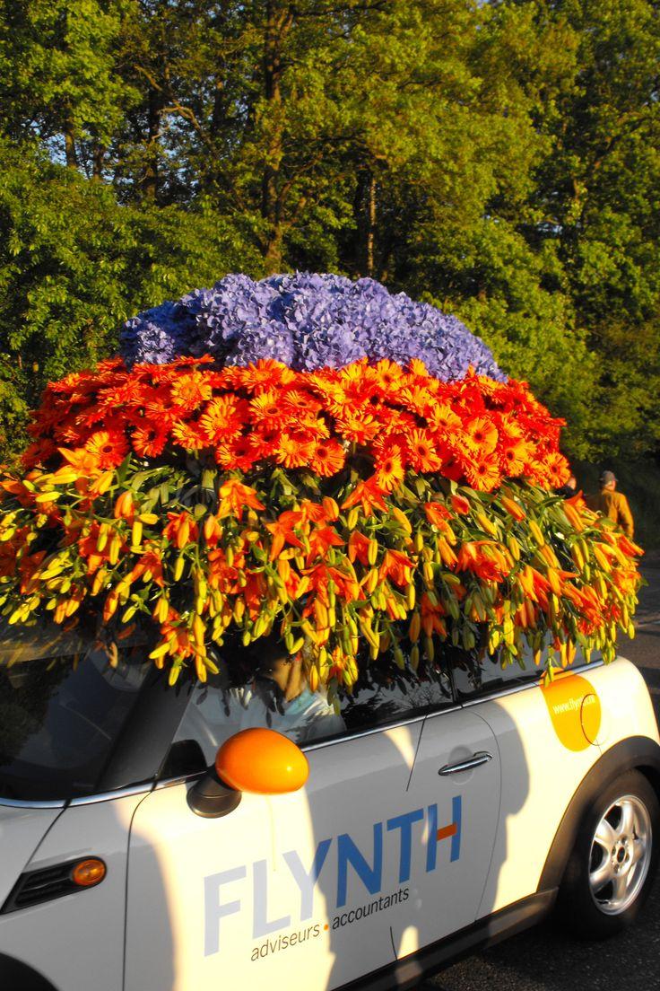 Jaarlijkse bloemencorso Bollenstreek