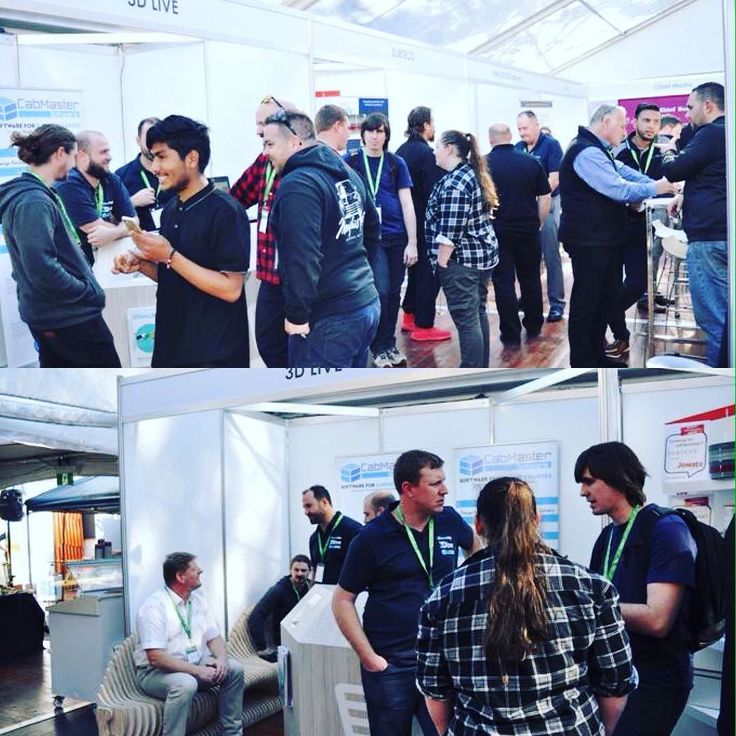 We are having so much fun at #biesseaustralia . Come on by to visit us #sidney ! #cabinets #cabinetmaker #joinerytrade #australia #inspiration #furniture