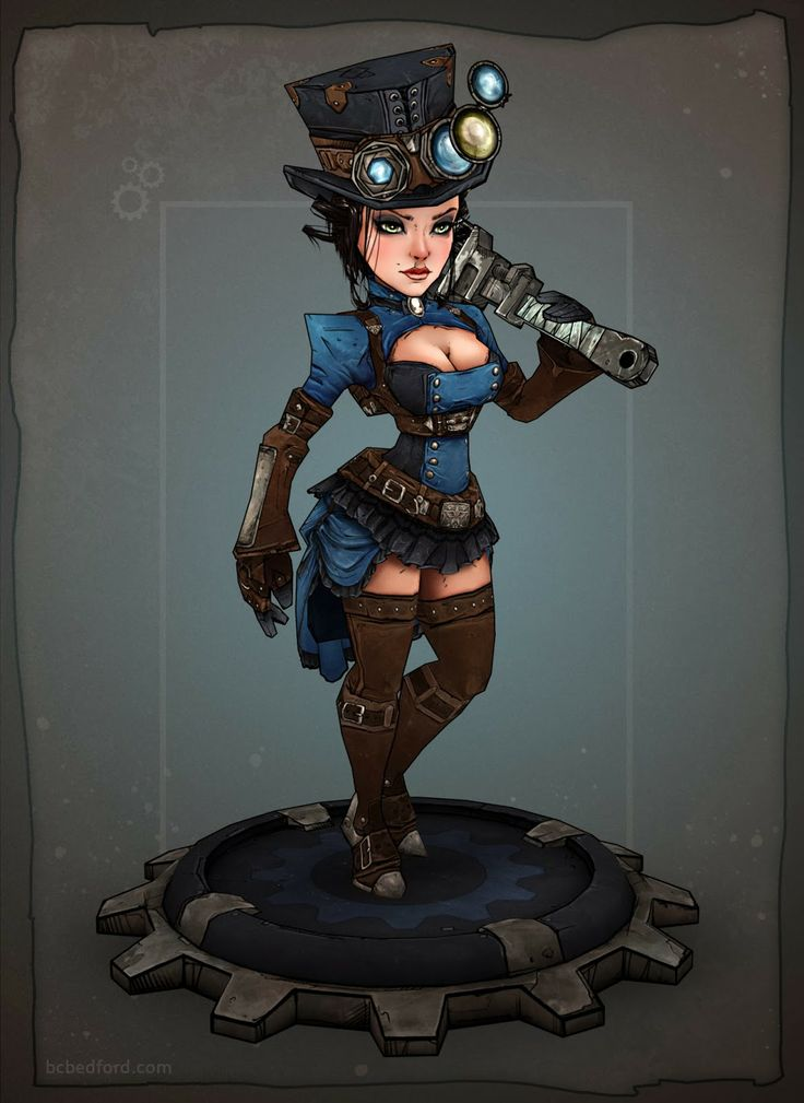 The Fixomancer - Steampunk Shufflin' - Polycount Forum