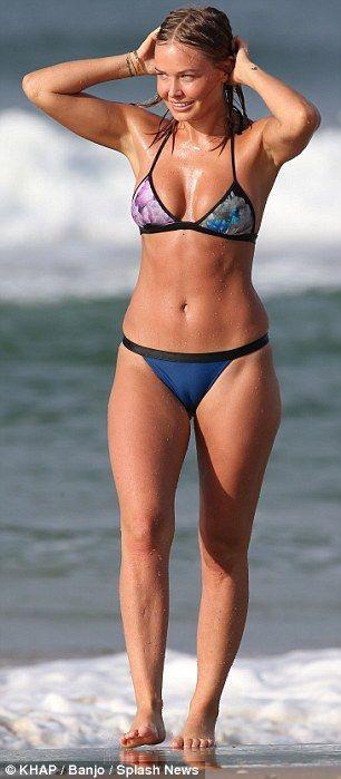 Lara Bingle - In Byron Bay, Australia. Looking good.