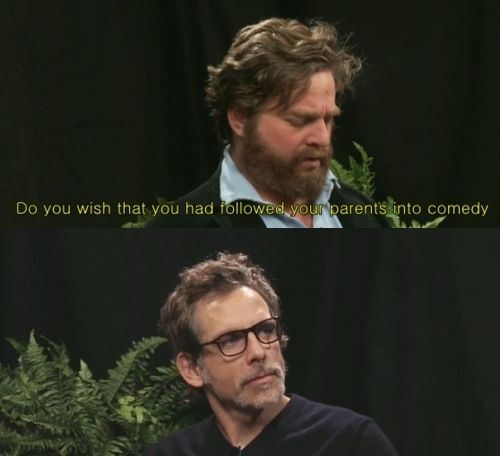 Between Two Ferns. love this & these too.