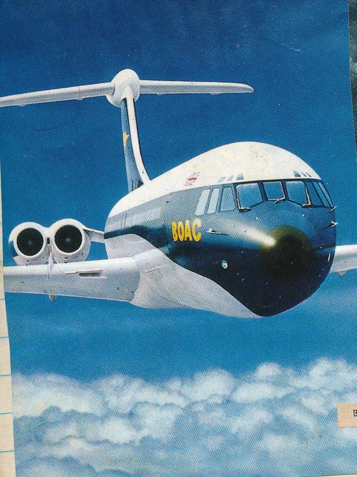 British Overseas Airways Corporation (BOAC) VC-10 Advert -- Mark EwingChow