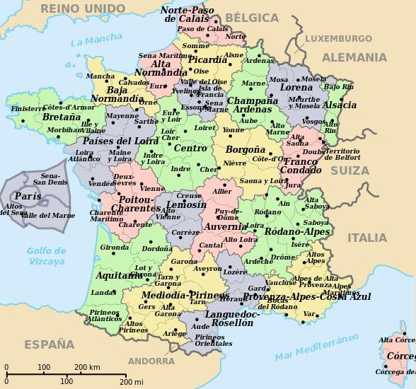 Listado de campings municipales en Francia