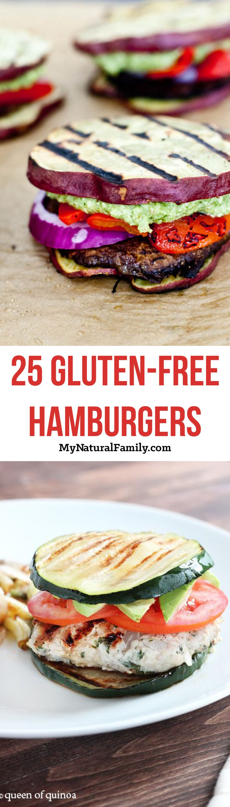 25 Gluten-Free Hamburger Bun and No-Bun Recipes that Actually Taste Good!   My Natural Family