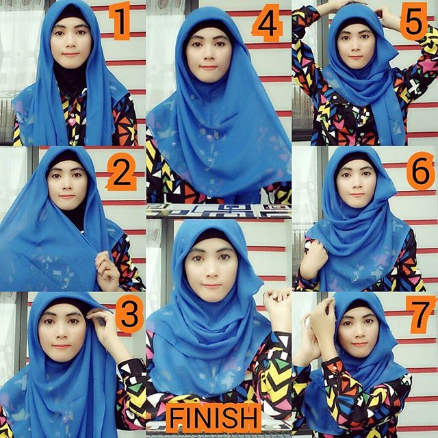 This is a beautiful hijab tutorial created using a square scarf and an underscarf, you still can get the perfect coverage from the front even with a square hijab, Here are the steps for this look: 1. Fold your hijab…