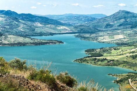 Amazing views - building land near Caccamo – Sicilianhouses.com