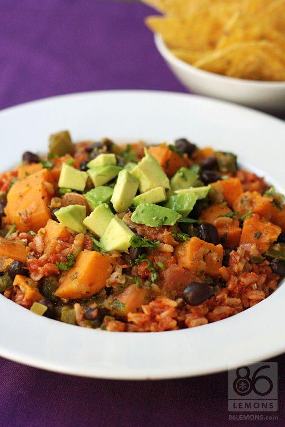 Brazilian Rice & Beans (vegan, glutenfree)  86lemons.com