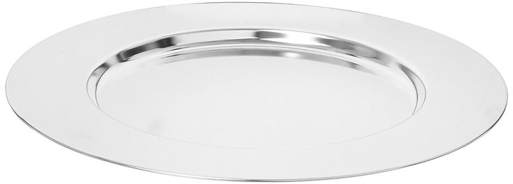 """Amazon.com: Elegance Silver 8252/4 Silver Plated Charger Plate, 11-3/4"""" (Pack of 4): Industrial & Scientific"""